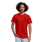 ISI Unisex Jersey T-Shirt by Bella + Canvas - red
