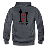 ISI Gildan Heavy Blend Adult Hoodie - charcoal gray