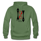 ISI Gildan Heavy Blend Adult Hoodie - military green