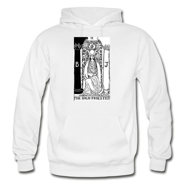 The High Priestess Gildan Heavy Blend Adult Hoodie - white