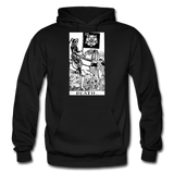Death Gildan Heavy Blend Adult Hoodie - black