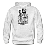 Death Gildan Heavy Blend Adult Hoodie - light heather gray