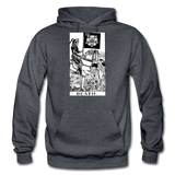 Death Gildan Heavy Blend Adult Hoodie - charcoal gray