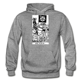 Death Gildan Heavy Blend Adult Hoodie - graphite heather