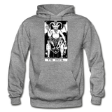 The Devil Gildan Heavy Blend Adult Hoodie - graphite heather