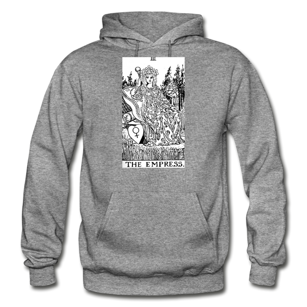 The Empress Gildan Heavy Blend Adult Hoodie - graphite heather