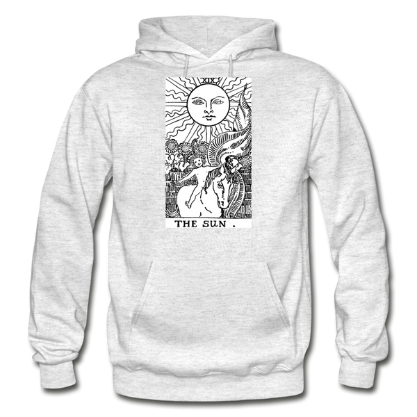 The Sun Gildan Heavy Blend Adult Hoodie - light heather gray