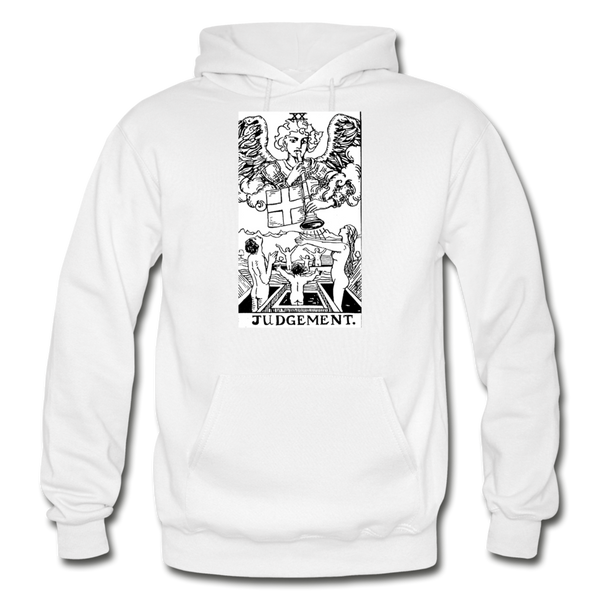Judgement Gildan Heavy Blend Adult Hoodie - white