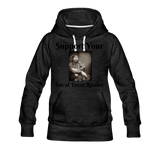 Support Your Local Tarot Reader Women's Premium Hoodie - charcoal gray