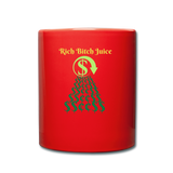 $$¢¢$$Full Color Mug - red
