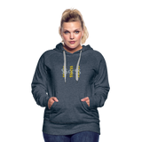 $$¢¢$$ Women's Premium Hoodie - heather denim
