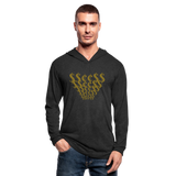 $$¢¢$$ Unisex Tri-Blend Hoodie Shirt - heather black