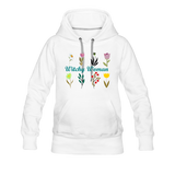 Witchy Woman Women's Premium Hoodie - white