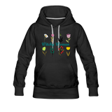 Witchy Woman Women's Premium Hoodie - black
