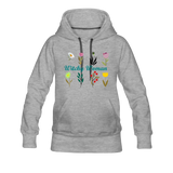 Witchy Woman Women's Premium Hoodie - heather gray