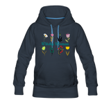 Witchy Woman Women's Premium Hoodie - navy