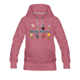 Witchy Woman Women's Premium Hoodie - mauve