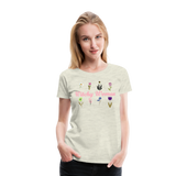 Witchy Woman Women's Premium T-Shirt - heather oatmeal
