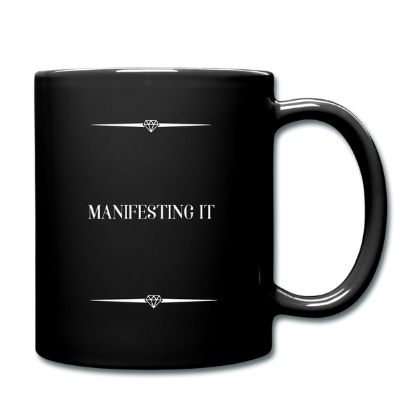 Manifesting it Full Color Mug - black