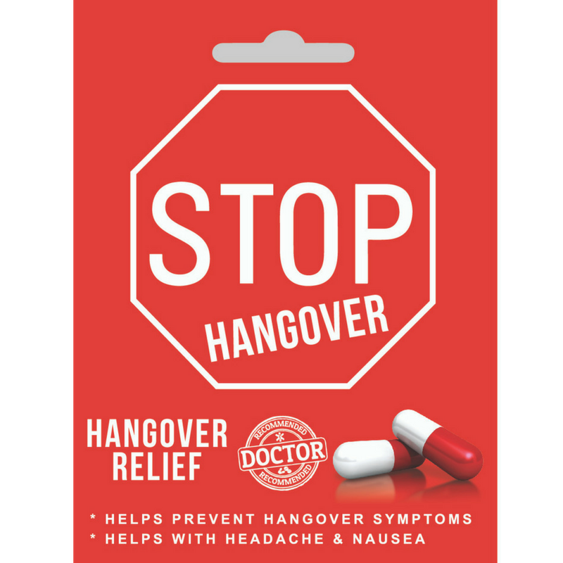 STOP Hangover Ultra Party 20-Pack (80 Pills)
