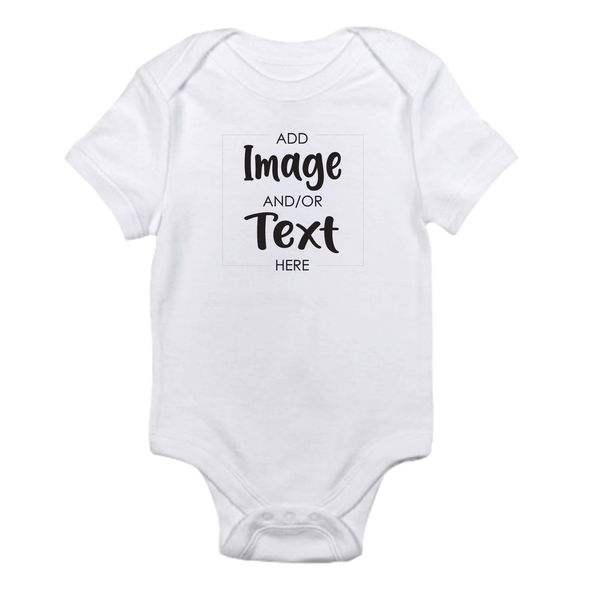 Custom Printed Infant Onesie - Gift Bar Custom Shirt and gift printing