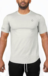 Men's Premium Scoop Tee - Grey