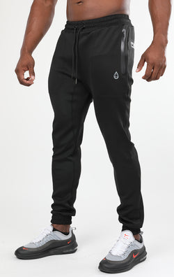 Men's Black Tech Joggers