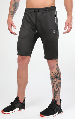 Men's Charcoal Tech Shorts