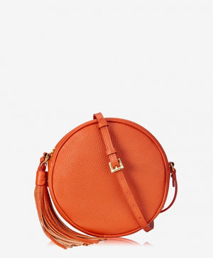 Zoey Circle Crossbody Orange by Gigi New York
