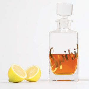 Glass Decanter by 8 Oak Lane