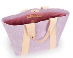 Moira Large Carryall in Lilac by Consuela