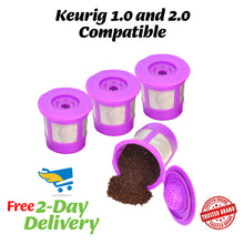 Reusable K-cups for Keurig 2.0 and 1.0 Machines 4packs
