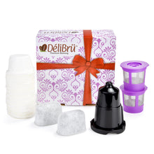 DeliBru Bundle Pack Gift Box Set for Regular Keurig and Keurig Mini | K Mini Plus