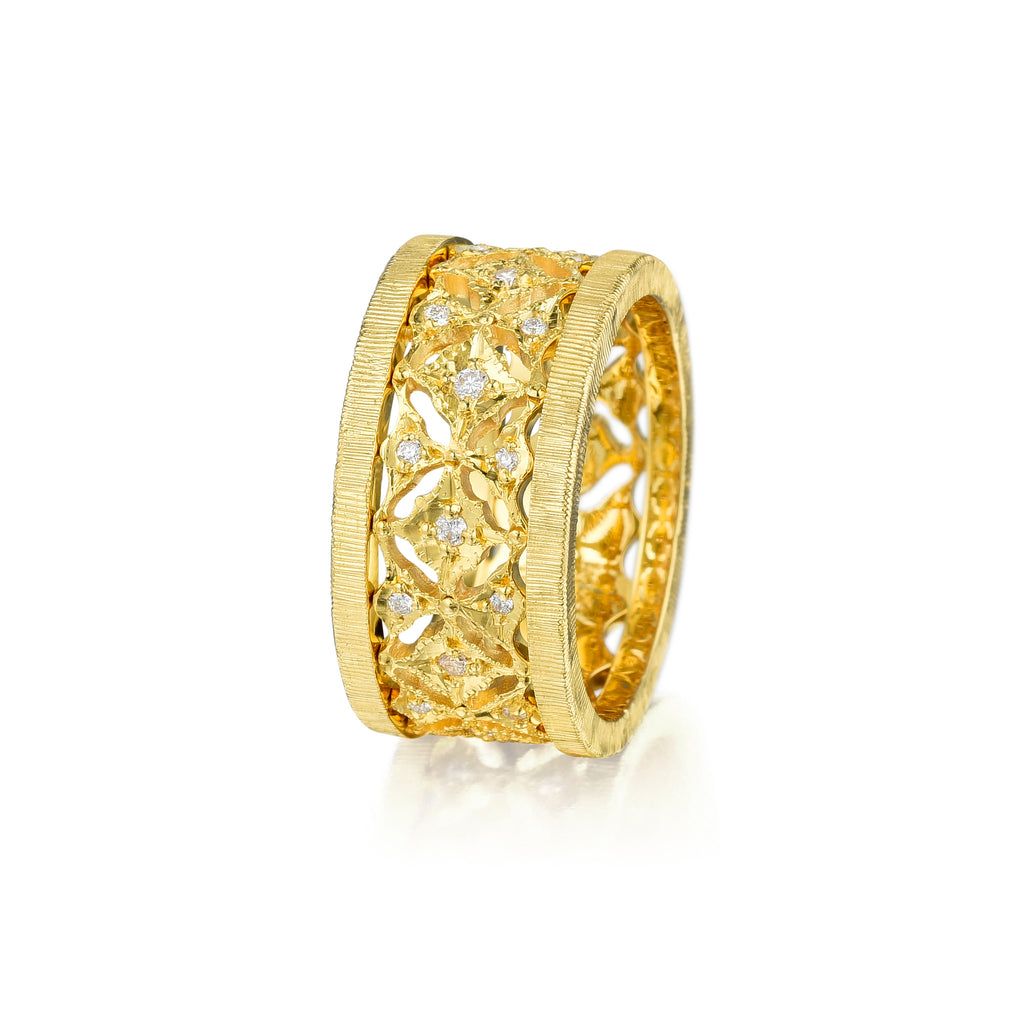 Gold & Diamonds Ring