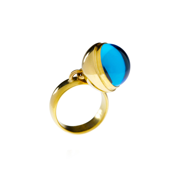 Gold & Color Gem Ring