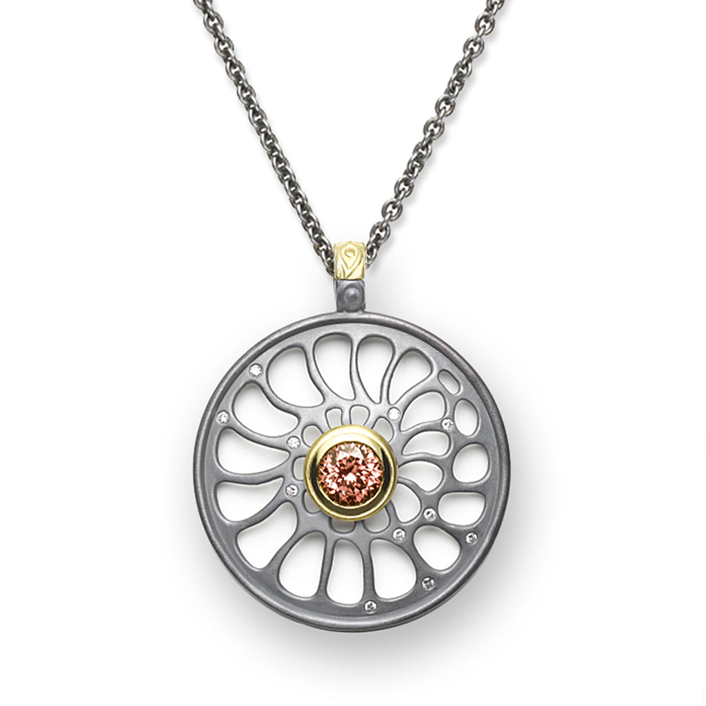 Zircon & Diamond Enhancer Pendant