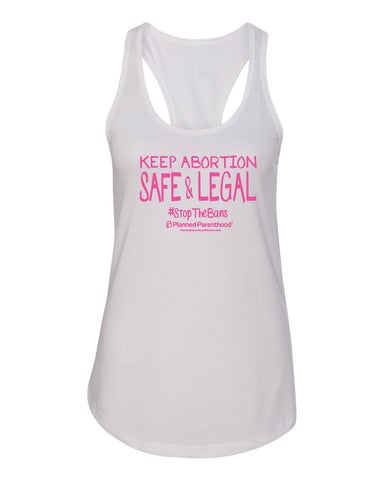 PP Keep Abortion Women's Tank