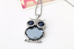 Beautiful Owl Pendant Perched On Tree Branch