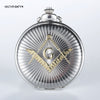 Freemason Quartz Pocket Watch