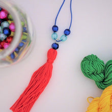 Fringe and Bead Necklaces - Instant download - MakeKit DIY Craft Kits