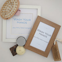 Wash Your Hands Sign - Instant download - MakeKit DIY Craft Kits
