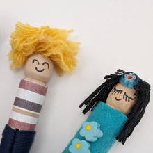 Make Your Own Peg Dolls - MakeKit DIY Craft Kits