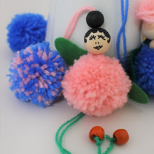 Pom Pom Fairies - Instant Download - MakeKit DIY Craft Kits