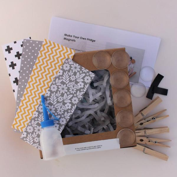 Make Your Own Fridge Magnets - MakeKit DIY Craft Kits