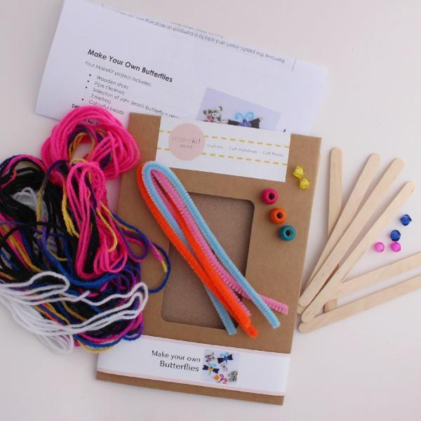 Make your own Butterflies - MakeKit DIY Craft Kits