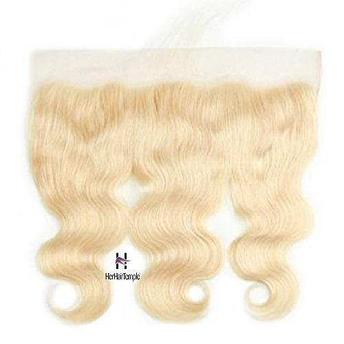 Platinum Blonde Body Wave lace Frontal