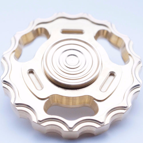 The Crank - Spinner Edition - Brass