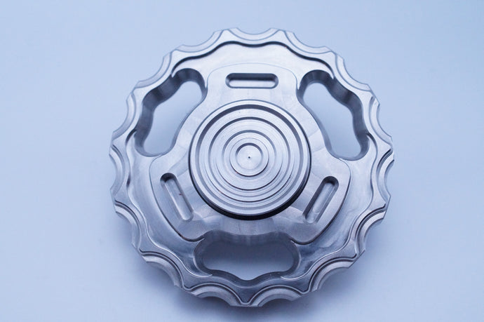 The Crank - Spinner Edition - Stainless Steel