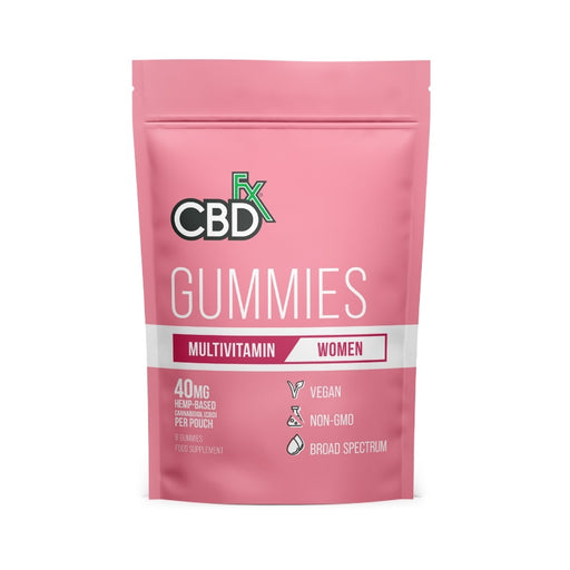 CBDfx Gummies - Women's Multivitamin (Pouch of 8)