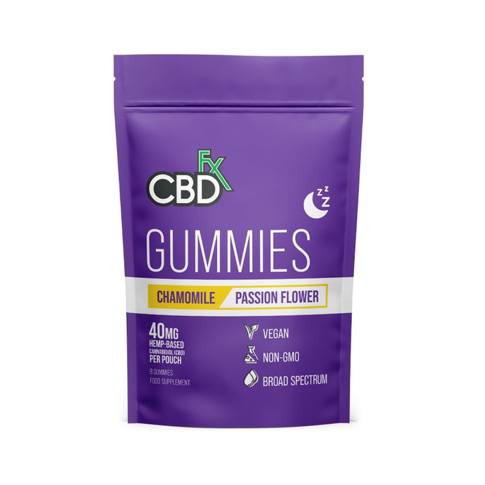 CBDfx Gummies - For Sleep (Pouch of 8)